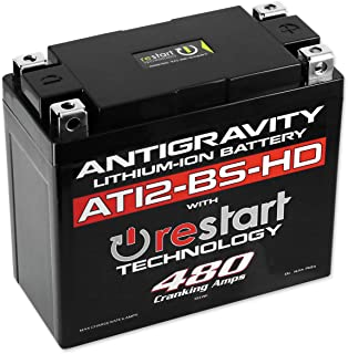 Antigravity AT12-BS-HD-RS High-Power Lithium RE-START Battery OEM Replacement