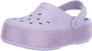 Crocband Platform Light Grey/Pink Lemonade
