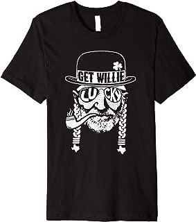Love St Patricks Day Shirt Willie T Shirt Nelson Funny Lucky Premium T-Shirt