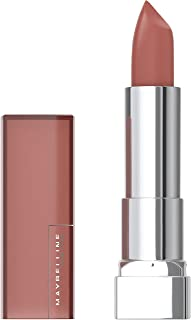 Maybelline Color Sensational Lipstick, Lip Makeup, Matte Finish, Hydrating Lipstick, Nude, Pink, Red, Plum Lip Color, Toasted Truffle, 0.15 oz. (Packaging May Vary)