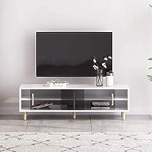 Entertainment TV Stand TV Media Console met Opbergplank Eenvoudige TV Kabinet Entertainment Center Kabinet voor Woonkamer ...