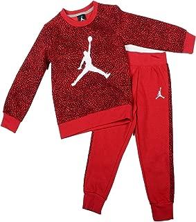 Jordan Little Boys' 2 Piece Elephant Fleece Pullover Sweatshirt and Pants Set