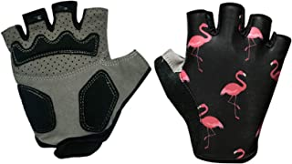 DKGEMN Cycling Gloves Bicycle Mountain Biking Glove with Anti-Slip Shock-Absorbing Pad Breathable Half Finger Outdoor Sports for Men&Women