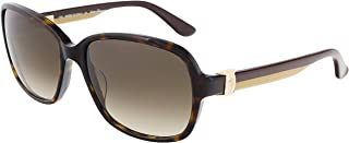 Ferragamo Salvatore Tortoise Plastic Frame Brown Lens Ladies Sunglasses SF606S214175625817