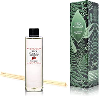 Urban Naturals New Wild Berry Scented Oil Reed Diffuser Refill | Includes a Free Set Reed Sticks! 4 oz.