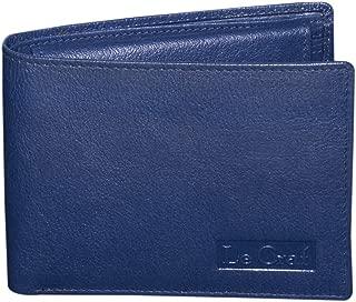Le Craf Edward Leather Navy Blue Men's Wallet