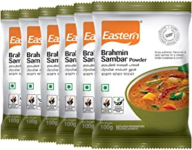 Eastern Brahmins Sambar Powder,100g (Pack of 6)