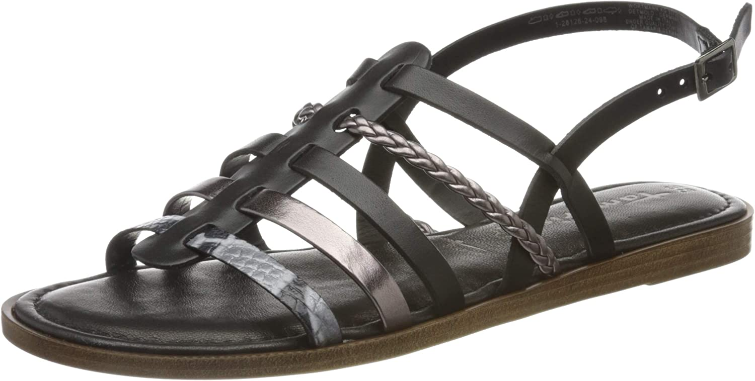 gift Tamaris Women's Ankle Strap Max 47% OFF Sandals