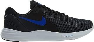 Men's Lunar Apparent Running Shoes-Black/Racer Blue-9.5