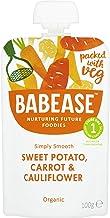 Babease Stage 1 Sweet Potato Carrot & Cauliflower 100g (Pack of 8)
