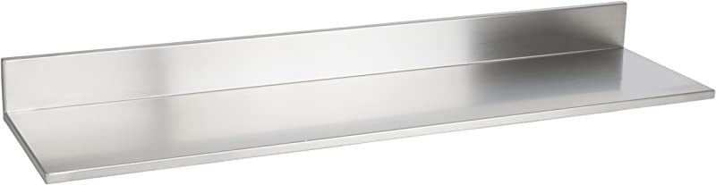 Durable Stainless Steel Wall Mountable 30 5 Inch Kitchen Shelf For Restaurants Businesses And Eateries