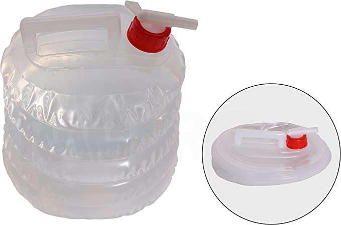6 Gallon Water Carrier Jug 3 Pack Plastic Container Camping Hunting Hiking New