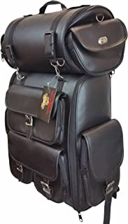 Vance Leather Large - 2 Piece Travel Bag and or Back Pack