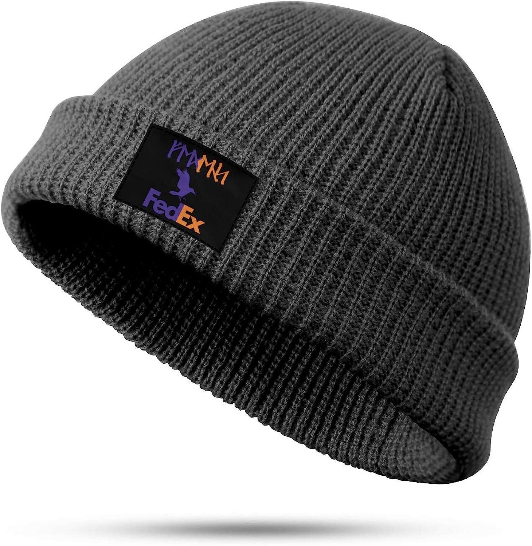 DHAKDQ Knit Beanie Hat FedEx-Office-Express-Logo-Symbol Skull Cap Winter Slouchy Hats