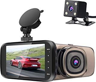 $39 » Dash Cam, 4K Dash Cam Built in HD GPS Car Dashboard Camera Recorder with 1080P,4.0 inch IPS Screen, 150° Wide Angle, G-Sen...