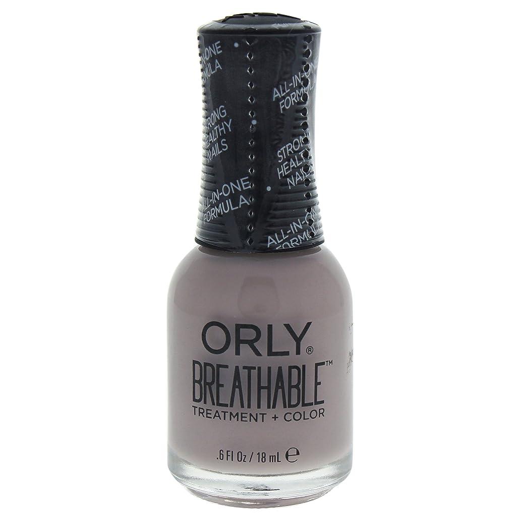 計器おばあさん悪化するOrly Breathable Treatment + Color Nail Lacquer - Staycation - 0.6oz / 18ml