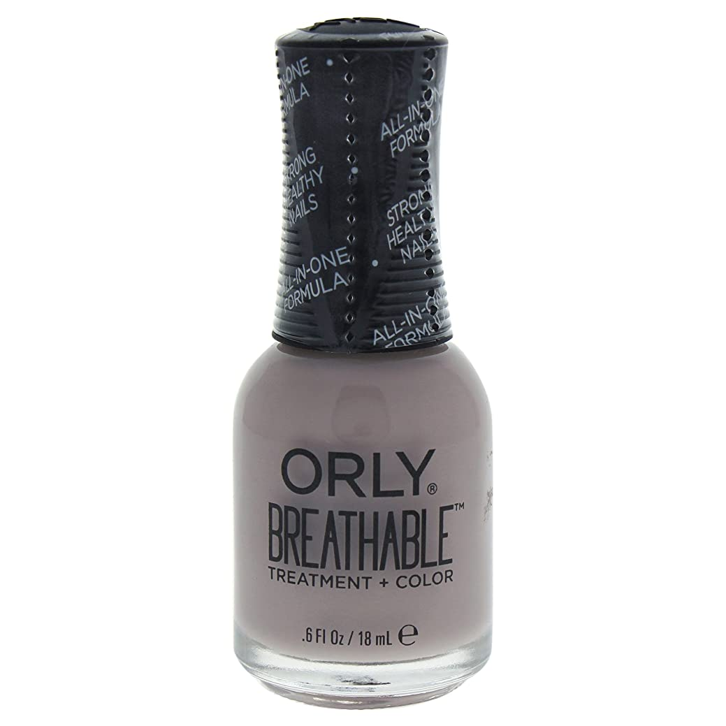 きゅうり首バスケットボールOrly Breathable Treatment + Color Nail Lacquer - Staycation - 0.6oz / 18ml