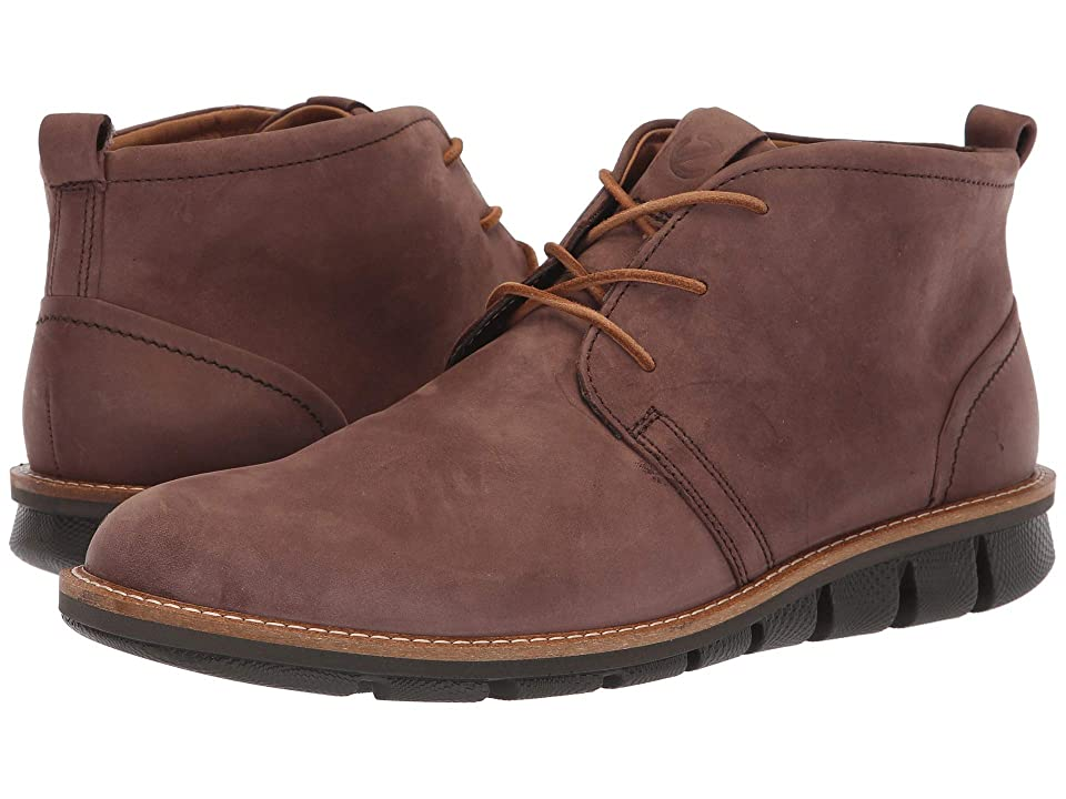 ECCO Jeremy Hybrid Boot (Coffee Nubuck Leather) Men