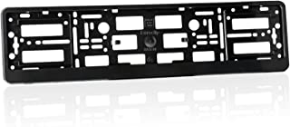 2 x Number Plate Holders Matte Black Finish Car Registration Surrounds Front /& Rear Frames for RANGE ROVER
