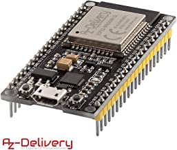 AZDelivery ESP32 NodeMCU Modulo Wifi Placa de Desarrollo con CP2102 (modelo sucesor del ESP8266) con E-Book incluido!
