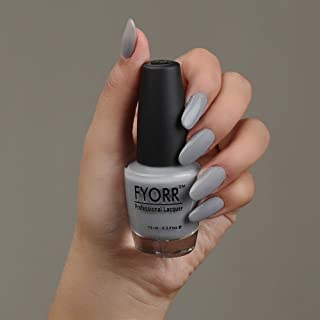 FYORR Oh Yeah Its Grey Long Lasting Nail Paint, 15 ml