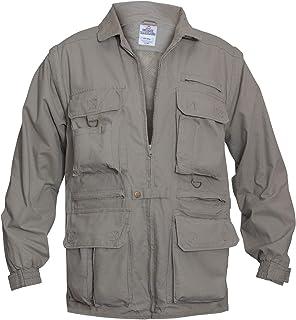 (X-Large, Khaki) - Rothco Convertible Safari Outback Jacket