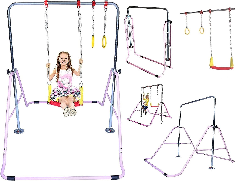 Gymnastics Training Bar for New arrival Kids Expandable Folding Home Kip Cheap mail order shopping
