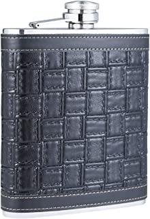 Best leather whiskey flask Reviews