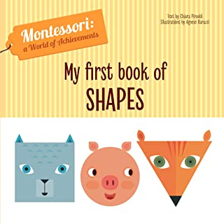 My First Book of Shapes (Montessori World of Achievements)