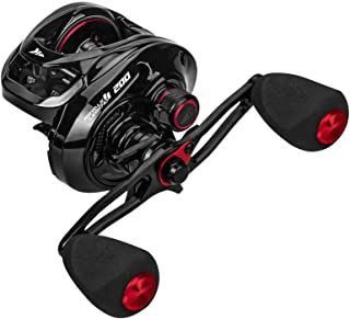 KastKing Royale Legend II 200 Baitcasting Fishing Reel, Wider High-Capacity Casting Reel, 5+1 Double Shielded Stainless St...