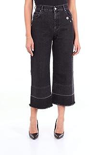 PINKO Women's 1X1090Y4X1Z99 Black Cotton Jeans