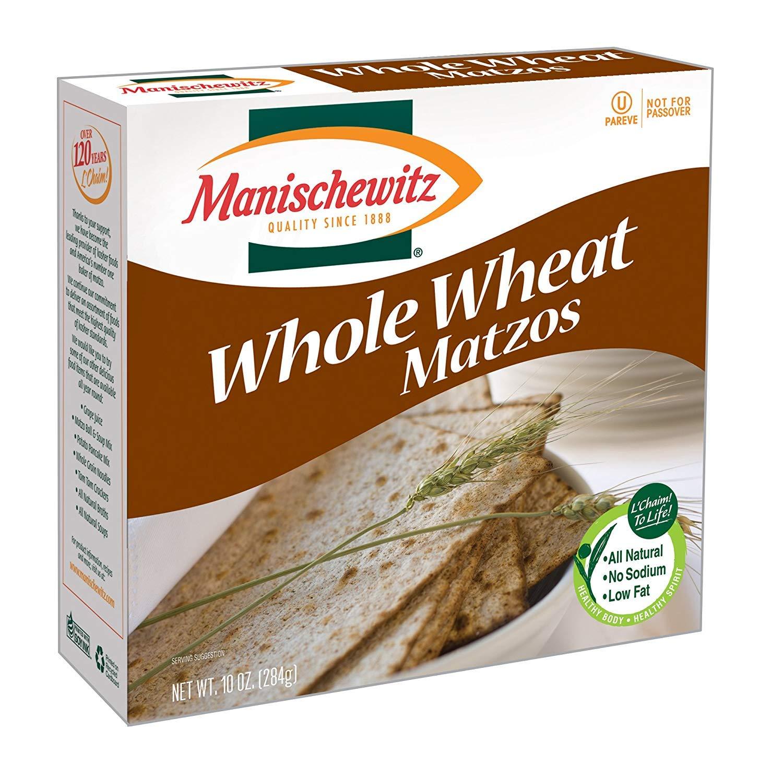 Manischewitz Matzo Whole Credence Wheat San Jose Mall 10 24 Oz