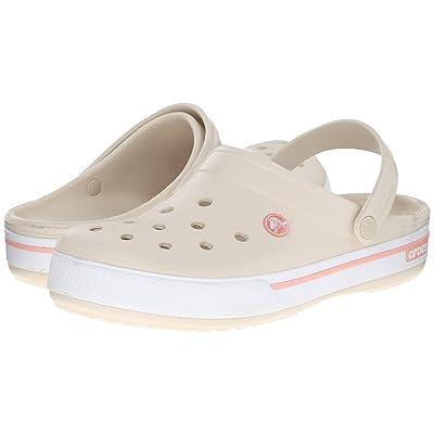 Crocs Crocband II.5 Clog (Stucco/Melon) Clog Shoes