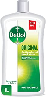 Dettol Original Anti-Bacterial Liquid Hand Wash 1L - Pine
