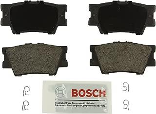 Bosch BE1212 Blue Disc Brake Pad Set for Select Lexus ES300h, ES350, HS250h; Pontiac Vibe; Toyota Avalon, Camry, Matrix, RAV4 - REAR