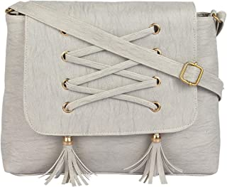 RITUPAL COLLECTION - Identify Your Look, Define Your Style Girls' Sling Bag (RPC_128_Grey)