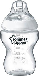 Tommee Tippee Closer-Nature Plastic Feed Bottle transparent, 260 Ml, Tt422500