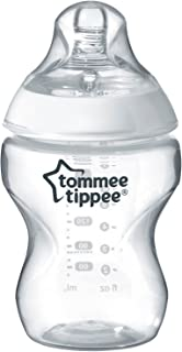 Tommee Tippee Closer-Nature Plastic Feed Bottle transparent, 260 Ml, Tt422500