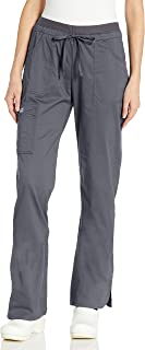 CHEROKEE Women's Workwear Core Stretch Low Rise Cargo Scrubs Pant