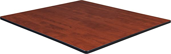 Regency TTSQ4848CHPL Square Standard Table Top 48 Inch Cherry Maple