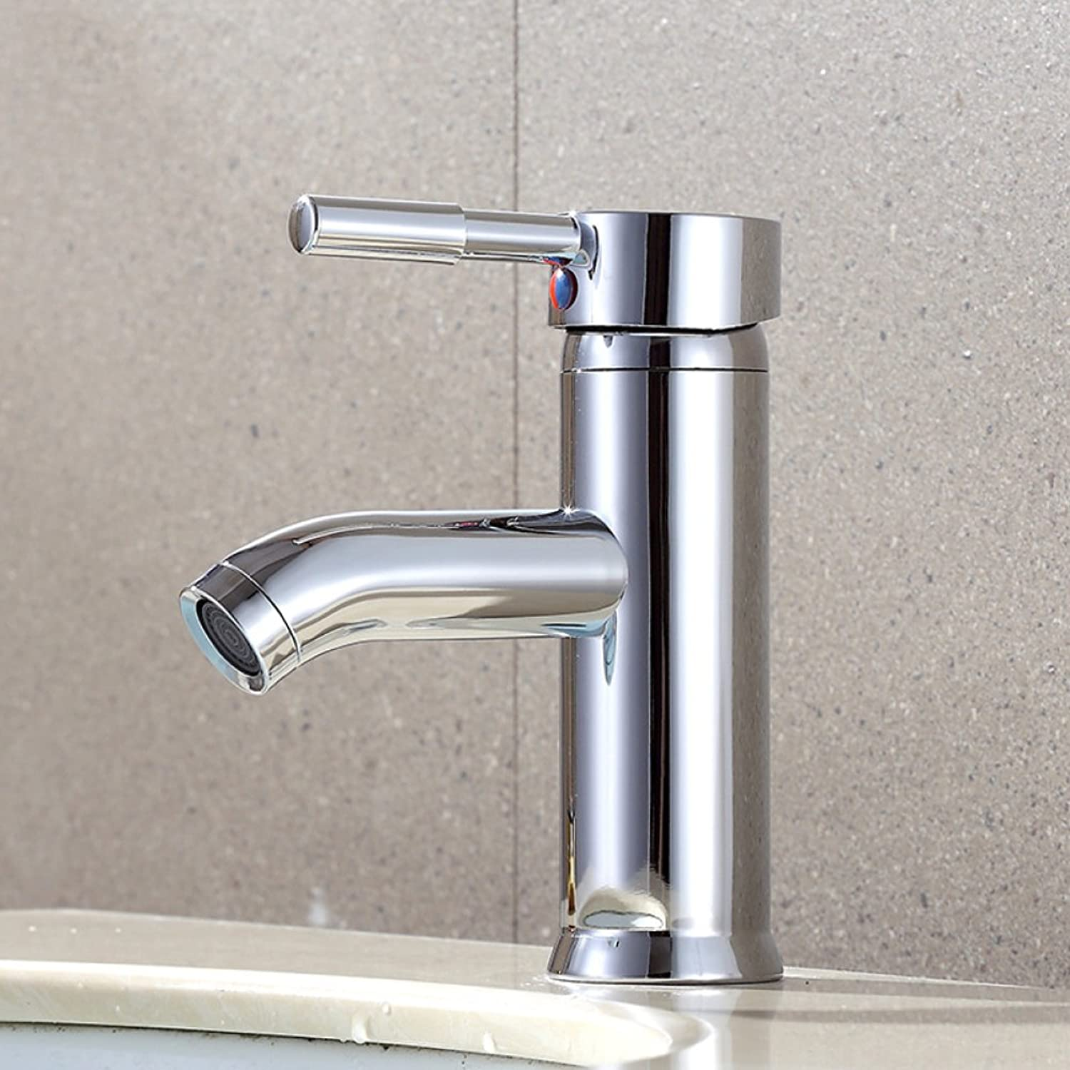 FW Furniture Ware FW Stainless steel plated basin faucet wash basin hot and cold faucet mixing faucet