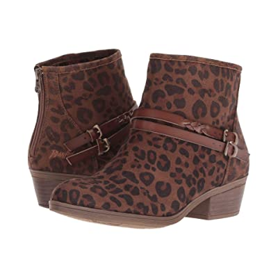Blowfish San Fran-B (Brown Autumn Leopard Micro Delux) Women