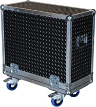 Amplifier 3/8 Ply ATA Case with Diamond Plate Laminate Fits Crate Gt212 Gt-212