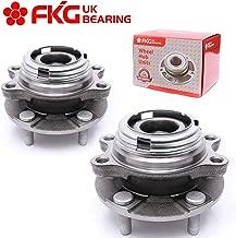 FKG HA590125 (AWD Models ONLY) Front Wheel Hub Bearing Assembly for Infiniti EX35 EX37 FX35 FX37 FX45 FX50 G25 G35 G37 M35 M37 M45 M56, 5 Lugs Set of 2