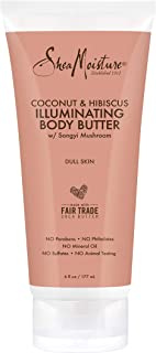 SheaMoisture Coconut & hibiscus body butter moisturizer, 6 Ounce