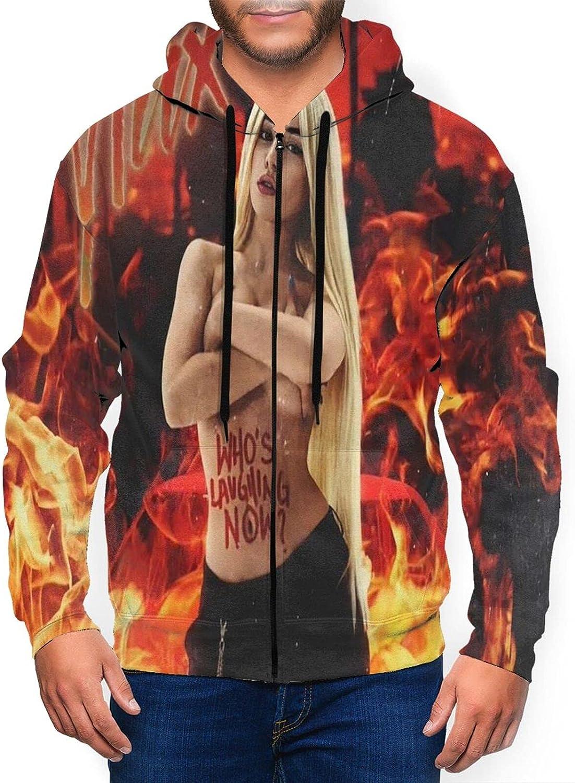 Max 87% OFF Ava Max Men'S Hooded Indefinitely Zipper Casual Coat Classic Jacket Shirt