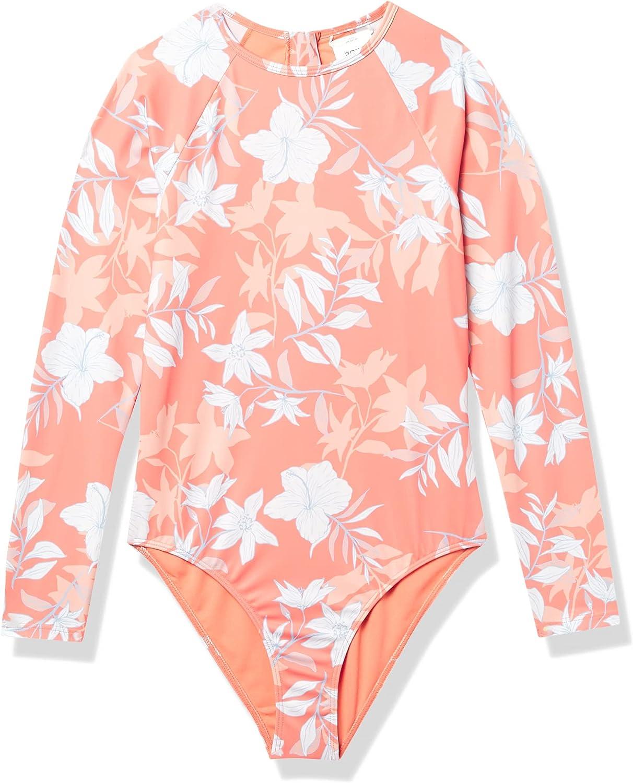 Roxy Women's Bloom Paradise Long Sleeve Onesie Swimsuit