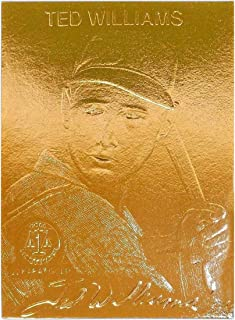 22k gold baseball cards