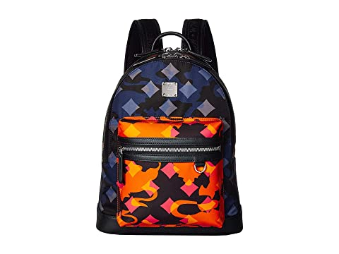 MCM Dieter Munich Lion Camo Nylon Backpack 32