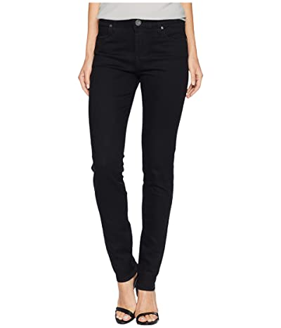KUT from the Kloth Diana Kurvy Skinny in Black (Black) Women